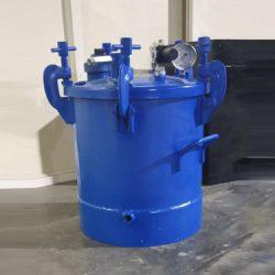 Pressure Pot With Low Level Sensor